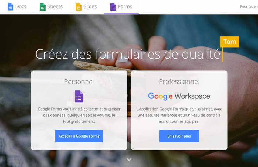 Google Forms : présentation, avantages et avis